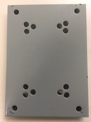 Base Plate For 40 To 1 Gear Box