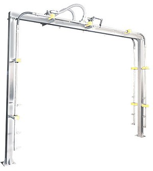 Flood Arch (2) Line Oscillating (Stainless Steel)