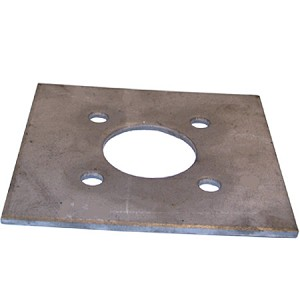 Plate For Hydraulic Motor For Baby Brush / Wrap